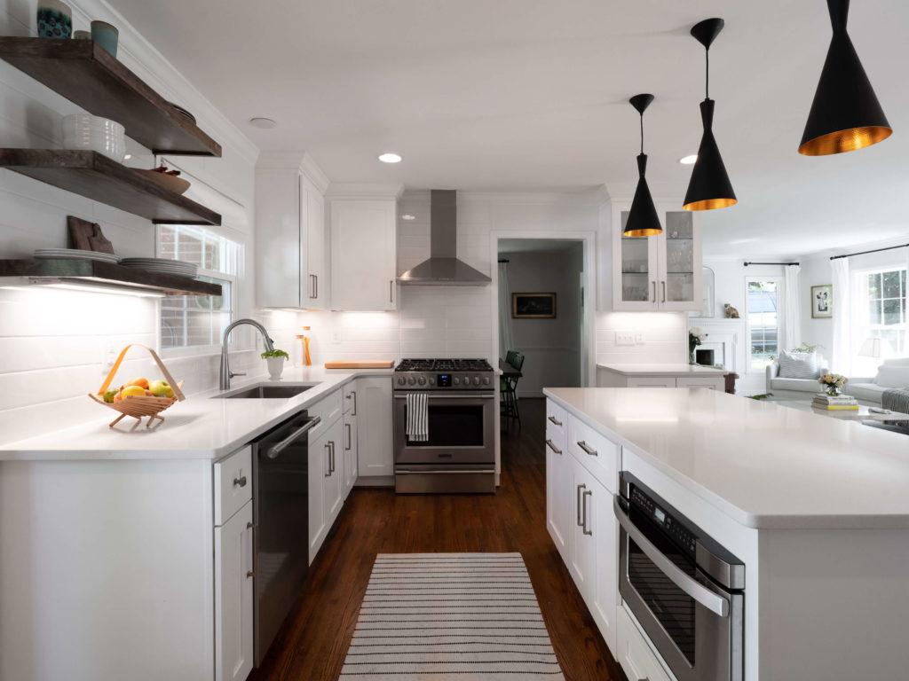 Plaza Midwood Charlotte Split Level Kitchen Remodel